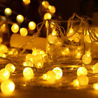 2/10M 20/100 LED Fairy Ball String Lights PARTY PATIO WEDDING Christmas DECOR