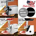 Home Used Commercial Meat Grinder Electric Stainless Steel Mincer Maker 2800W