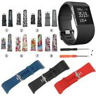 Silicone Replacement Band Strap Wristband Complete Kit For Fitbit Surge Tracker