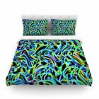 Camouflage FreeForm Movement by Dawid Roc Featherweight Duvet Cover