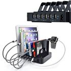 USB Multi-Charger Charging Dock Stand Holder Kits For iPhone/i pad/Apple Watch