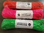 550 Rothco 550lb. Type III Nylon Paracord 300 ft or 500 ft packs Bright Colors