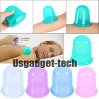 Anti Cellulite Silicone Cupping Cups Helper For Health Care Cool Body Massage