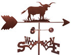SWEN Products Cow Long Horn Longhorn Bull Steer Weathervane