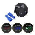 12-24V Waterproof Car Motorcycle LED Voltage Meter Digital Display Voltmeter