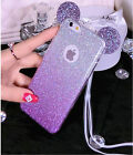 for Apple iPhone7 6s Plus 5 Case 3D Cute Big Ear Glitter Mouse Soft Slikon Cover