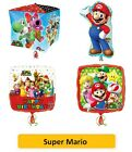"SUPER MARIO Foil BALLOONS (SuperShape/Kids/Birthday/Party/Foil/18""/Latex)"