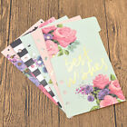 A5 A6 A7 Loose-leaf Colorful Flower Printing for Spring Binder Supplies 5 Pages