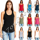 Next Level Womens CVC Gathered Racerback Tank Top Shirt XS S