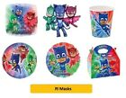 PJ MASKS Birthday Party Range - Tableware Balloons & Decorations {Henbrandt}