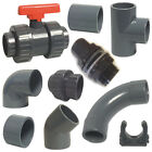 PVC Metric Solvent Weld Pressure Pipe Fittings 20mm To 40mm For Marine Aquariums