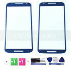 New Front Outer Screen Glass Lens Replacement For Motorola Moto X+1 Black +tools