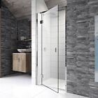 KUDOS PINNACLE8 HINGED DOOR SHOWER ENCLOSURE 8MM GLASS BATHROOM SIDE PANEL