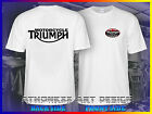 TRIUMPH MOTORCYCLE LOGO TEE SHIRT NEW T-SHIRT $26.47 CAD on eBay