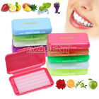 0.99$ Dental Orthodontics Wax 10 scents  For Bracket Braces gum irritation