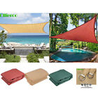 Ollieroo Sun Shade Sail Triangle /Rectangle Outdoor Patio Canopy UV Top Shelter