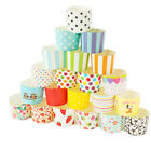 25 x Cupcake Wrapper Paper Cake Case Baking Muffin Dessert Cups Party Wedding