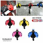 Lovely Kid Beetle Ladybug Ring Bell For Cycling Bicycle Bike Ride Alarm 2017 BG