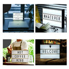 A3 / A4 / A5 Cinematic Light Box Cinema LED Letter Lamp Party Wedding Home Decor