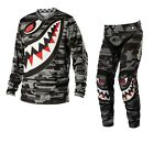NEW TROY LEE DESIGNS GP P-51 MOTOCROSS DIRT GEAR COMBO GRAY ALL SIZES
