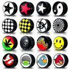 Double Flared Ear Plug - Stretcher Flesh Tunnel Expander Taper CHOICE OF DESIGNS
