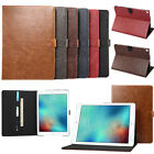 Folio Leather Smart Cover Stand Case For Apple iPad Air 2 Mini Pro 9.7 10.5 12.9