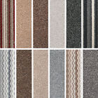 Brand New Quality Twist Pile Carpets - Striped & Plain Cheap Carpets - 4M Widths
