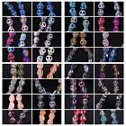 8 Pieces Skull Crystal beads Exquisite Glass Crystal 8x10mm 32 Colors Optional