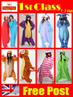 Animal Onsies for Adults Womens Mens Kigurumi Pajamas Fleece Pyjamas Unicorn UK