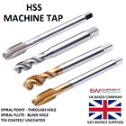 HSS SPIRAL POINT FLUTE MACHINE TAPS ENGINEERING TOOLS HIGH STANDARD METRIC
