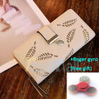 Fashion Women Bifold Wallet Leather Clutch Card Holder Purse Lady Long Handbag