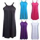 US Women Ladies Casual Sleeveless Evening Party Short Mini Dress Beach Sundress