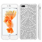 New Sparkling Bling Crystal Diamond Pearl CellPhone Case Cover For iPhone 7 Plus