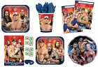 WWE WRESTLING Birthday Party Range (Tableware & Decorations)