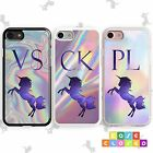 PERSONALISED UNICORN Phone Case Cover Pastel for iPhone Samsung Hard/Rubber