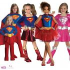 GIRLS SUPERGIRL SUPERHERO DRESS TUTU KIDS FANCY DRESS COSTUME OUTFIT AGES: 2-12