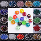 Wholesale Rondelle Faceted Crystal Glass Loose Spacer Big Beads 12/14/16/18mm