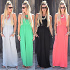 Boho Women's Summer Casual Sundress Evening Cocktail Party Beach Long Maxi Dress