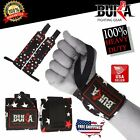 BUKA BODY BUILDING WEIGHT LIFTING GYM TRAINING WRIST SUPPORT STARSTYLE BAR STRAP