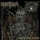 FLESHCRAWL/SKINNED ALIVE (ONE-MAN DEATH METAL PROJECT/FERLI THIELM) - TALES OF F