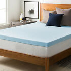 Gel Visco Elastic Memory Foam Mattress Pad Bed Topper 3-Year Warranty 7CM Thick
