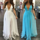 Us Stock Women Summer Long Maxi Boho Evening Party Dress Beach Dresses Sundress