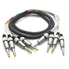 """Audio TRS 1/4"""" Pro Fantail Snake Cable - 4, 8, 12, 16, 24 Channel - 5' to 25'"""