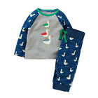Toddler Infant Baby Kids Boys Clothes Cotton T-shirt Tops+Pants Outfits Set