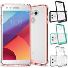 For LG G6 / G7 ThinQ Case Slim Clear Hard Back Hybrid Shockproof TPU Phone Cover