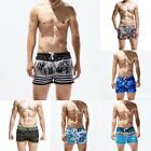 Herren Bade Hose Bade short Schwimmshort Sommer  Shorts Boxer Trunks Tenue