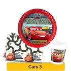 Disney CARS 3 NEW Birthday PARTY Tableware Balloons Decorations Supplies PROCOS