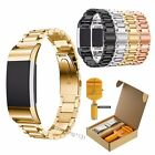 Replacement Stainless Steel Bracelet Watch Band for Fitbit Charge 2 Tracker