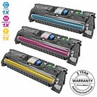 3 COLOR Toner Cartridge Set for HP LaserJet 2550 Q3961A