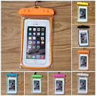Waterproof Underwater Phone Pouch Bag Pack Case Cover For most iPhone Samsung
